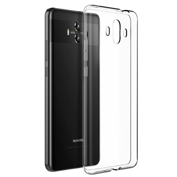 Husa Ultra Slim 0.3mm Upzz Huawei Mate 10 Pro Transparenta imagine itelmobile.ro 2021