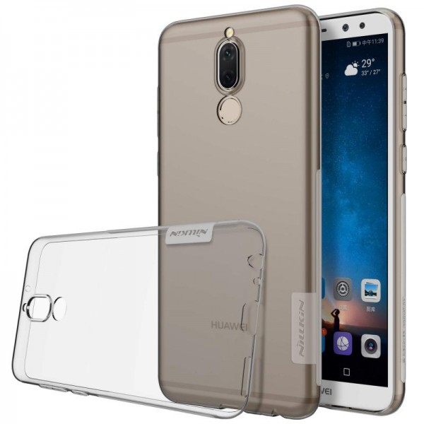 Husa Slim Nillkin Nature Huawei Mate 10 Lite Fumurie imagine itelmobile.ro 2021
