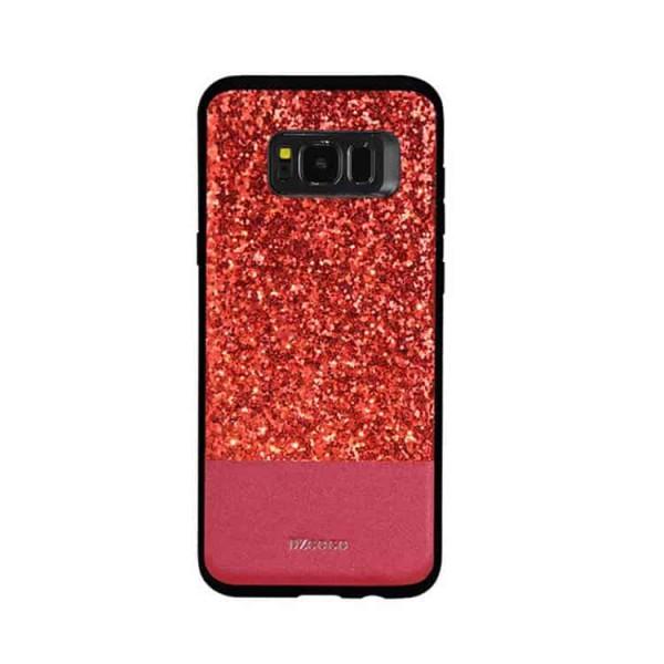 Husa Spate Lux Premium Dzgogo Bling Samsung S8 Red