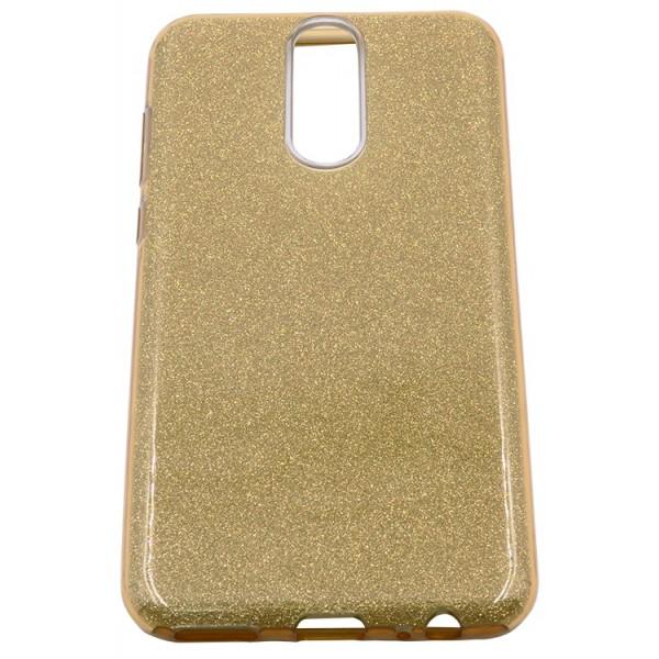 Husa Spate Upzz Shiny Lux Huawei Mate 10 Lite Gold imagine itelmobile.ro 2021