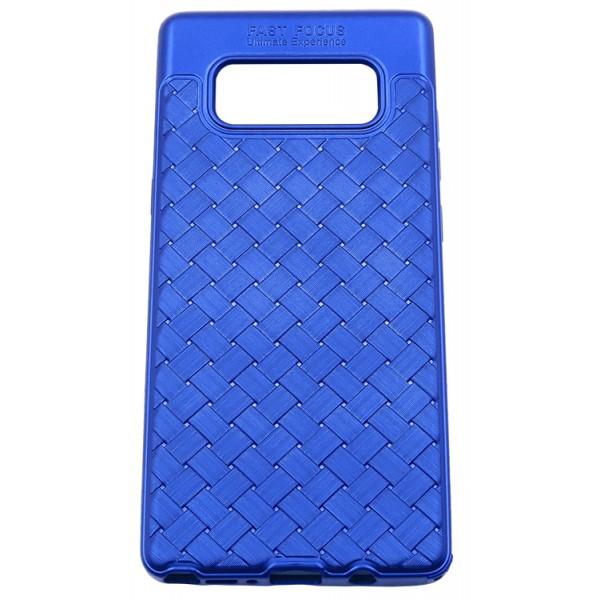 Husa Spate Silicon Wave Upzz Samsung Note 8 Blue imagine itelmobile.ro 2021