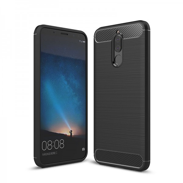 Husa Spate Forcell Carbon Pro Huawei Mate 10 Lite Black imagine itelmobile.ro 2021