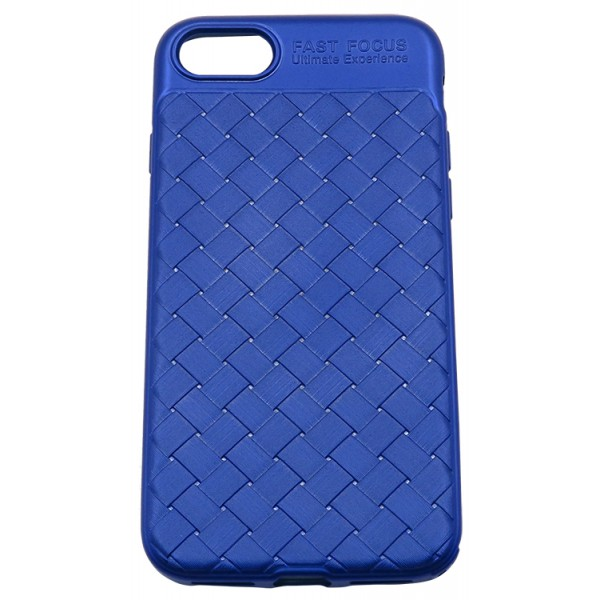 Husa Spate Silicon Wave Upzz iPhone 7/8 Blue imagine itelmobile.ro 2021