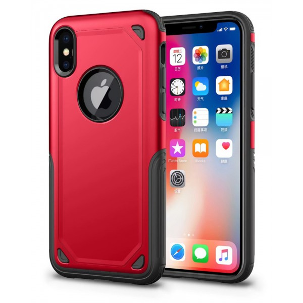 Husa Spate Upzz Sgp Pro iPhone X ,iphone 10 Red imagine itelmobile.ro 2021