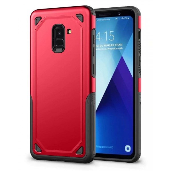 Husa Spate Upzz Sgp Pro Samsung A8 Plus 2018 Red imagine itelmobile.ro 2021