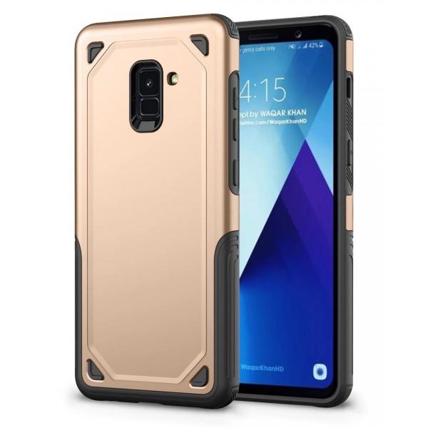 Husa Spate Upzz Sgp Pro Samsung A8 Plus 2018 Gold imagine itelmobile.ro 2021
