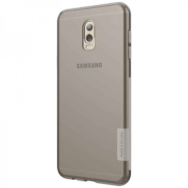 Husa Slim Nillkin Nature Samsung J7 Plus Fumurie imagine itelmobile.ro 2021