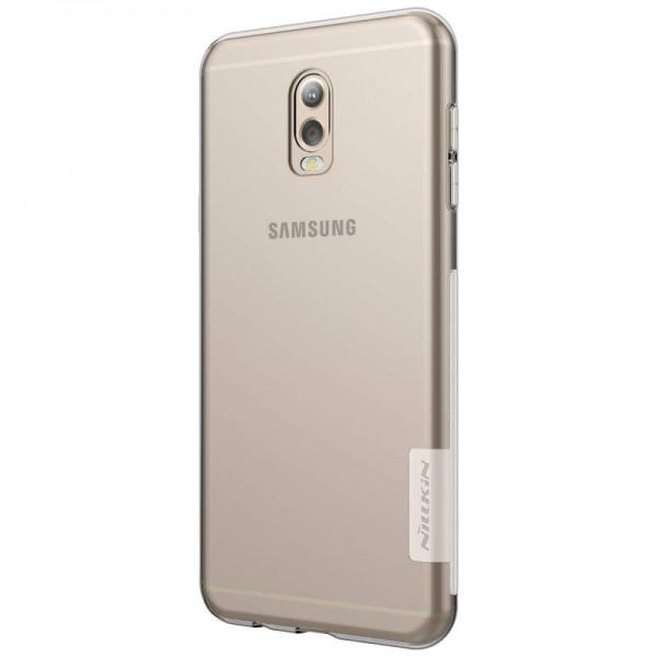 Husa Slim Nillkin Nature Samsung J7 Plus Transparenta imagine itelmobile.ro 2021
