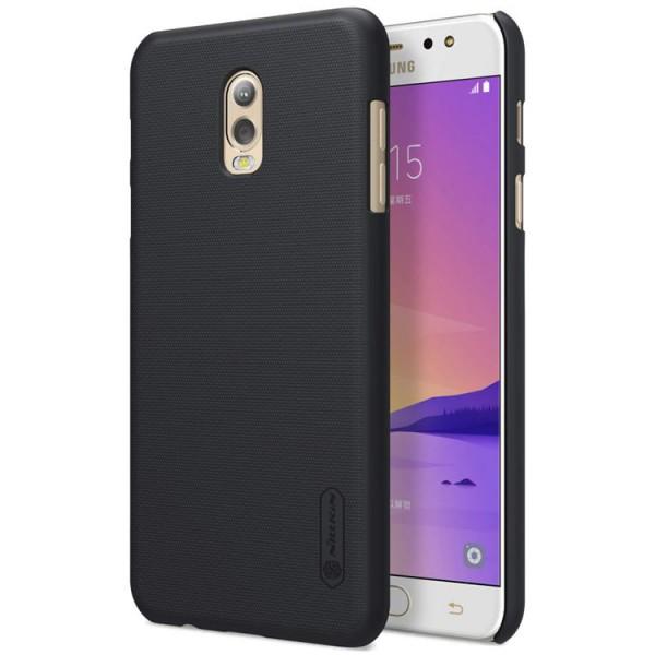 Husa Slim Nillkin Frosted Negru Samsung J7 Plus imagine itelmobile.ro 2021