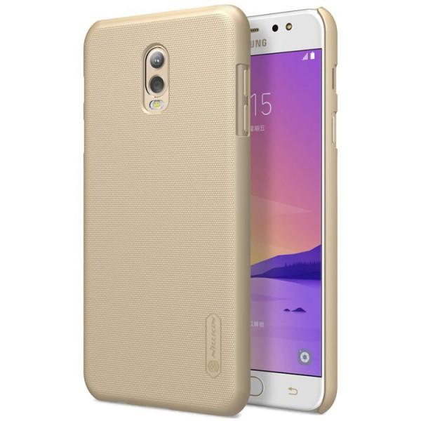 Husa Slim Nillkin Frosted Gold Samsung J7 Plus imagine itelmobile.ro 2021