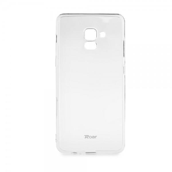 Husa Spate Roar Jelly Samsung A8 2018 Plus Transparenta imagine itelmobile.ro 2021