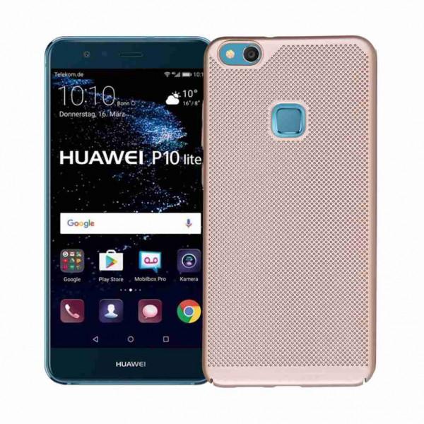 Husa Lux Hard Ultra Slim Air-up Huawei P10 Plus Gold imagine itelmobile.ro 2021
