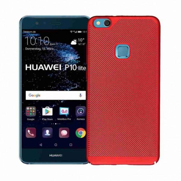 Husa Lux Hard Ultra Slim Air-up Huawei P10 Plus Red imagine itelmobile.ro 2021