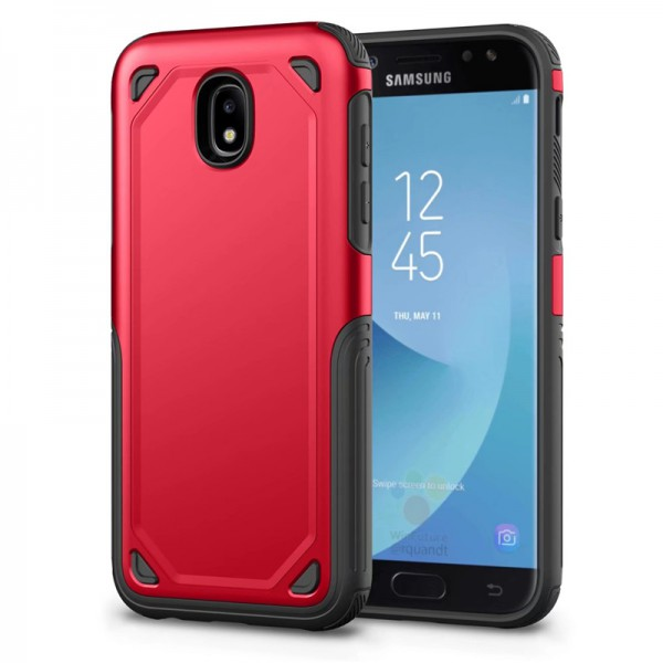 Husa Spate Upzz Sgp Pro Samsung J3 2017 Red imagine itelmobile.ro 2021