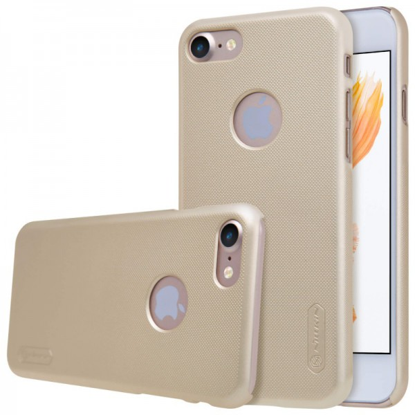 Husa Slim iPhone 7 Nillkin Frosted Gold