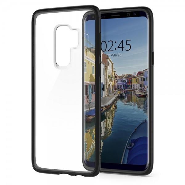 Husa Originala Spigen Ultra Hybrid Samsung Galaxy S9 Matte Black