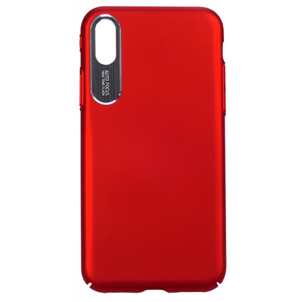 Husa Hard Auto Focus Slim iPhone X,iphone 10 Red imagine itelmobile.ro 2021