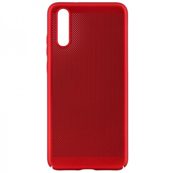Husa Lux Hard Ultra Slim Air-up Huawei P20 Red imagine itelmobile.ro 2021