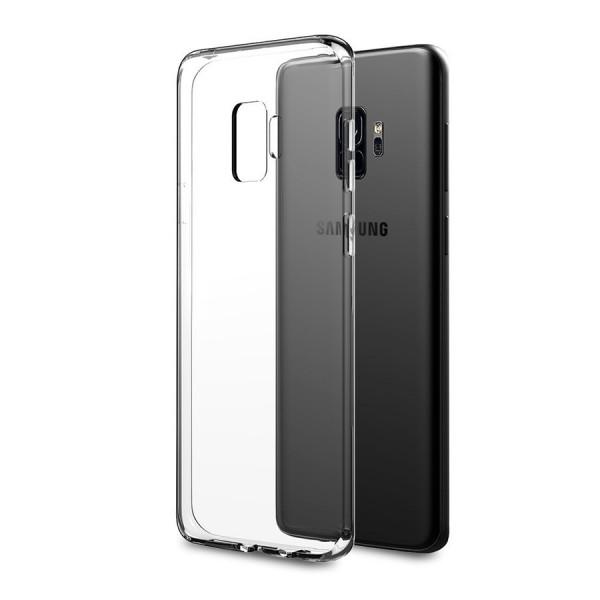 Husa Spate Silicon Ultra Slim Samsung S9+ Plus Transparenta imagine itelmobile.ro 2021