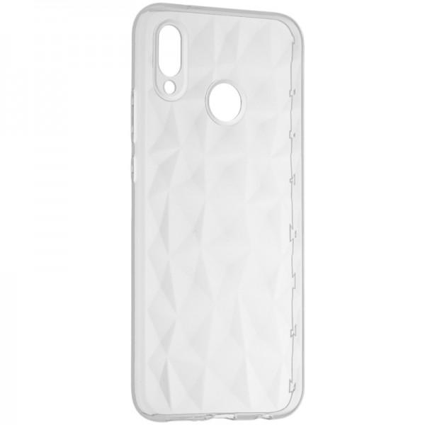 Husa Spate Upzz Prism Huawei P20 Lite Transparenta ,silicon imagine itelmobile.ro 2021