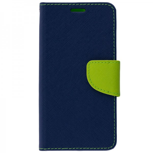 Husa Flip Carte Fancy Book Huawei P20 Blue imagine itelmobile.ro 2021