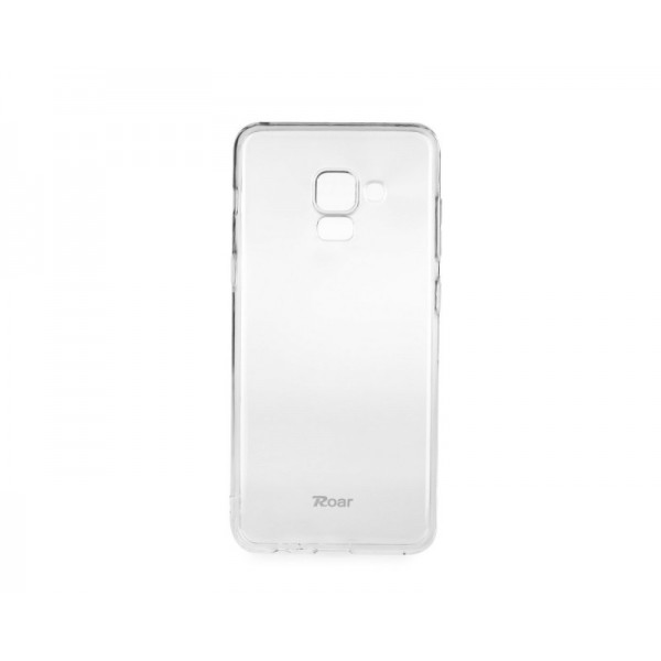 Husa Spate Roar Jelly Samsung Galaxy A6+ Plus 2018 Transparenta imagine itelmobile.ro 2021