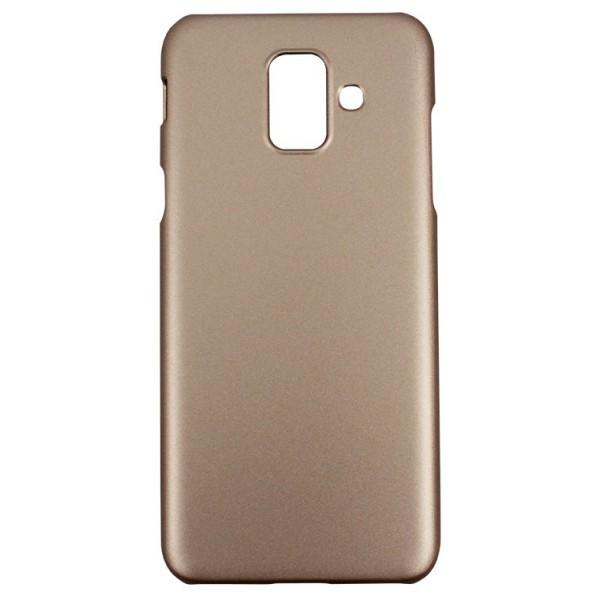 Husa Spate X-level Metallic Samsung Galaxy A6 2018 Gold imagine itelmobile.ro 2021