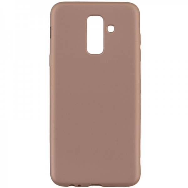 Husa Spate Silicon Ultra Slim Flash Jelly Samsung Galaxy A6 2018 Gold imagine itelmobile.ro 2021