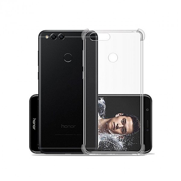 Husa Crystal Clear Anti-shock Upzz Pro Huawei P Smart Cu Tehnologie Air-cushion imagine itelmobile.ro 2021