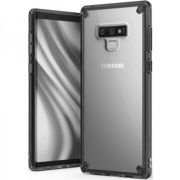 Husa Premium Ringke Fushion Samsung Galaxy Note 9 Smoke Transparenta imagine itelmobile.ro 2021