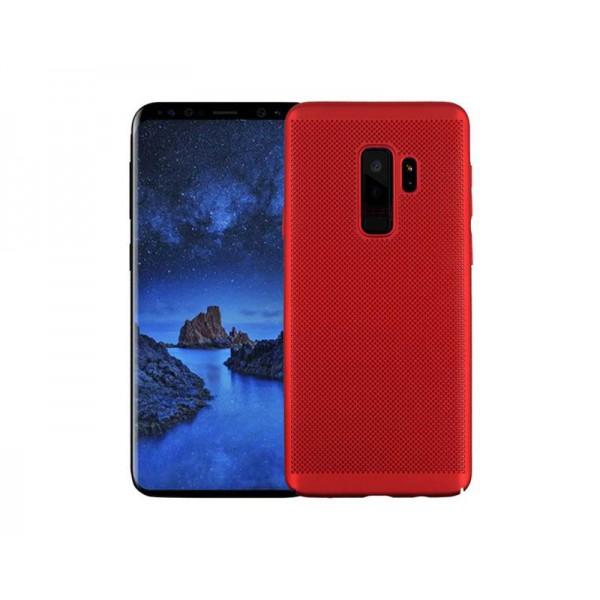 Husa Lux Hard Ultra Slim Air-up Samsung J6 2018 Red imagine itelmobile.ro 2021