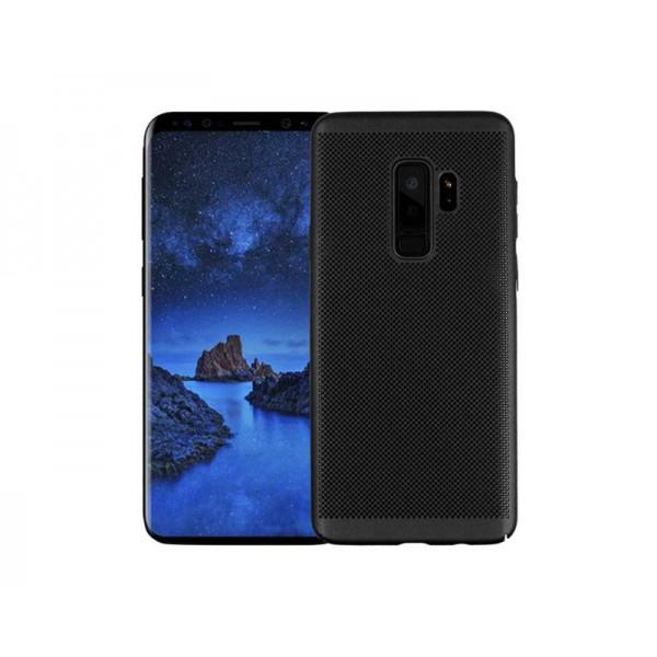Husa Lux Hard Ultra Slim Air-up Samsung J6 2018 Negru imagine itelmobile.ro 2021