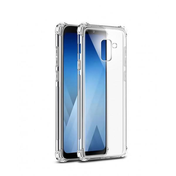Husa Crystal Clear Anti-shock Upzz Pro Samsung J4 2018 Cu Tehnologie Air-cushion Cu Folie Sticla Marca Upzz In Pachet imagine itelmobile.ro 2021