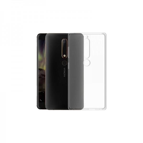 Husa Spate Upzz Ultra Slim Nokia 6.1 2018 Transparenta imagine itelmobile.ro 2021