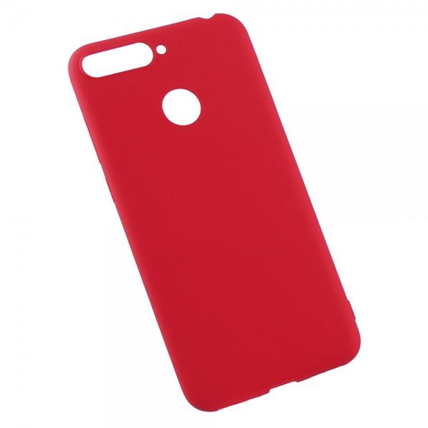 Husa Flash Jelly Pentru Spate Din Silicon Ultra Slim Huawei Y6 Prime 2018 Red imagine itelmobile.ro 2021