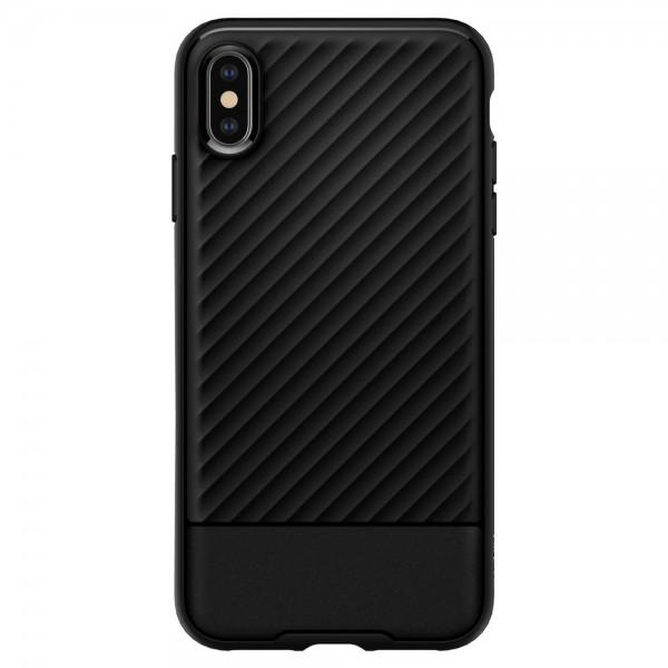 Husa Premium Originala Spigen Core Armor iPhone Xs Max Negru Silicon
