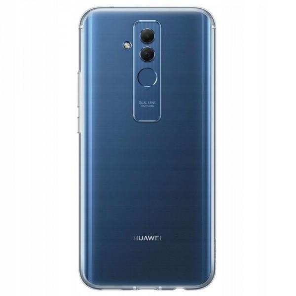 Husa Ultra Slim Upzz Slim Fit Huawei Mate 20 Lite Transparenta 0.5mm Grosime Silicon imagine itelmobile.ro 2021