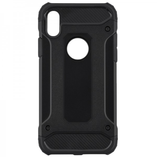 Husa Spate Armor Forcell iPhone Xs Max Negru imagine itelmobile.ro 2021