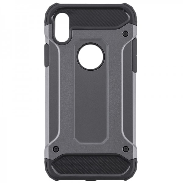 Husa Spate Armor Forcell iPhone Xs Max Grey imagine itelmobile.ro 2021