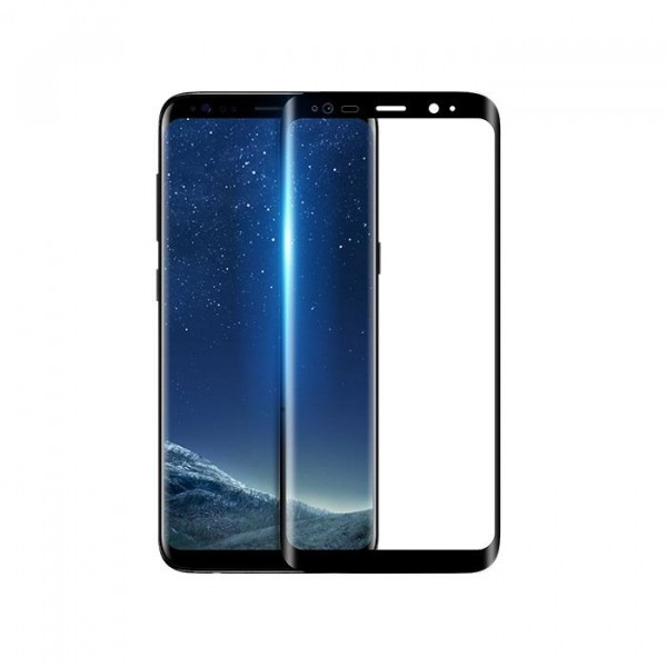 Folie Premium Sticla Securizata Hoco Full Cover Samsung S8+ Plus Negru imagine itelmobile.ro 2021