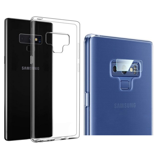 Set Husa Spate Upzz Ultraslim Transparenta Si Folie Nano Glass Pentru Camera Pentru Samsung Note 9 imagine itelmobile.ro 2021