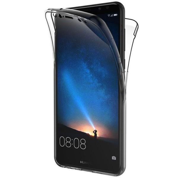 Husa 360 Grade Silicon Huawei Mate 20 Lite Transparenta imagine itelmobile.ro 2021