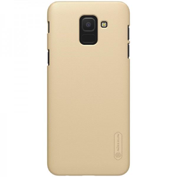 Husa Slim Nillkin Frosted Samsung J6+ Plus 2018 Gold imagine itelmobile.ro 2021