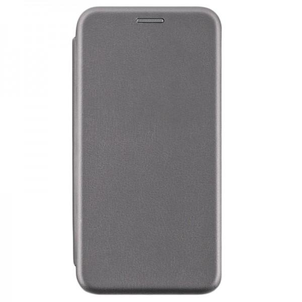 Husa Flip Carte Cu Magnet Lux Upzz iPhone Xs Max Gri imagine itelmobile.ro 2021