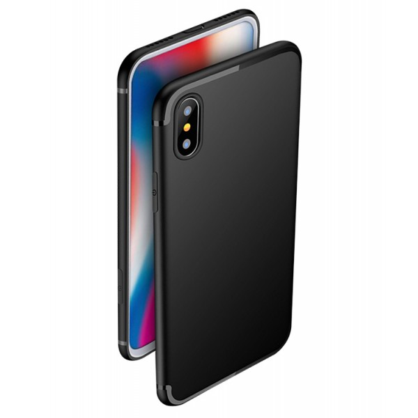 Husa Spate Upzz Ultra Slim iPhone X ,iphone 10 Negru imagine itelmobile.ro 2021