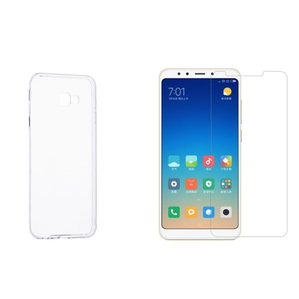 Set Husa Ultra Slim Upzz Samsung J4+ Plus 2018 Transparenta 0,5mm Si Folie Sticla Upzz 9h imagine itelmobile.ro 2021