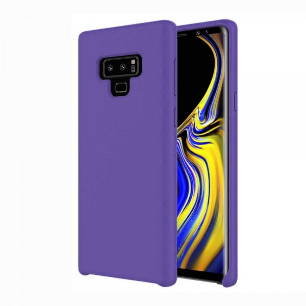 Husa Silicon Soft Samsung Note 9 Interior Alcantara Purple imagine itelmobile.ro 2021