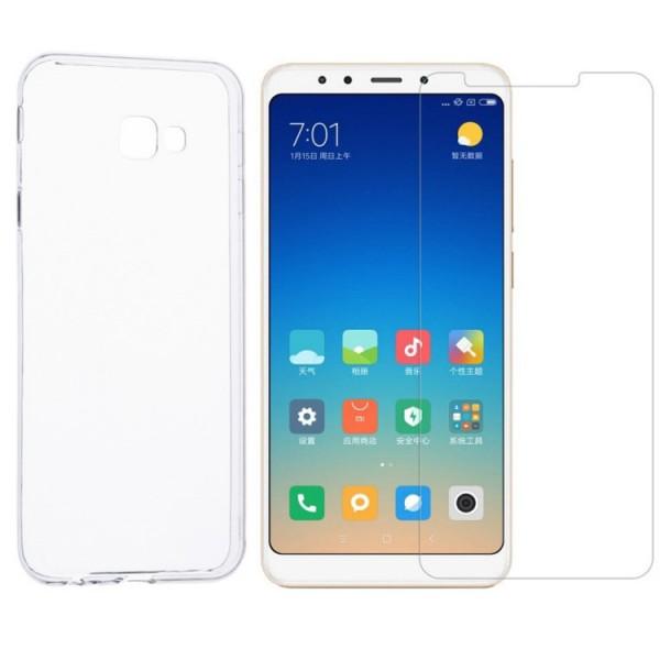 Set Husa Ultra Slim Upzz Samsung J6+ Plus 2018 Transparenta 0,5mm Si Folie Sticla Upzz 9h imagine itelmobile.ro 2021