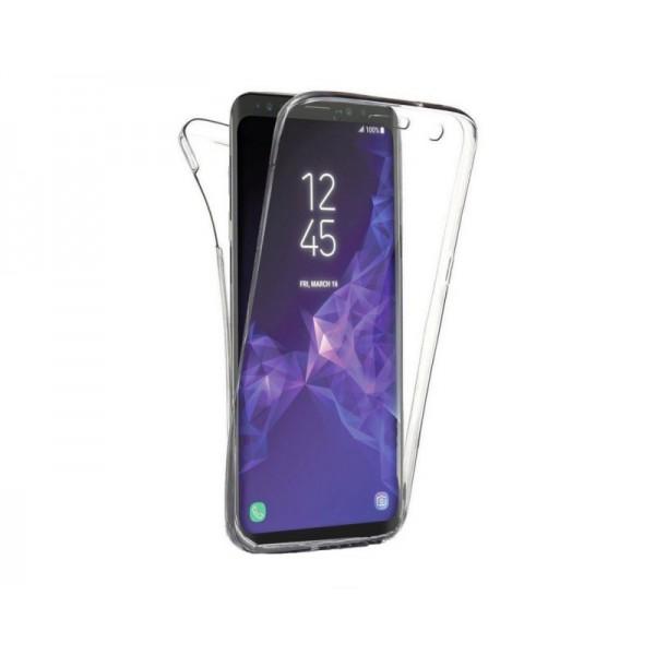 Husa 360 Grade Silicon Si Tpu Premium Samsung A7 2017 Transparenta Upzz imagine itelmobile.ro 2021