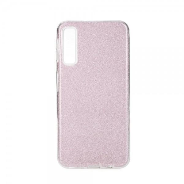 Husa Spate Upzz Shiny Lux Samsung A7 2018 Pink imagine itelmobile.ro 2021